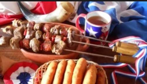 Chilenos  suben de  4  a  5 kilos en fiestas patrias