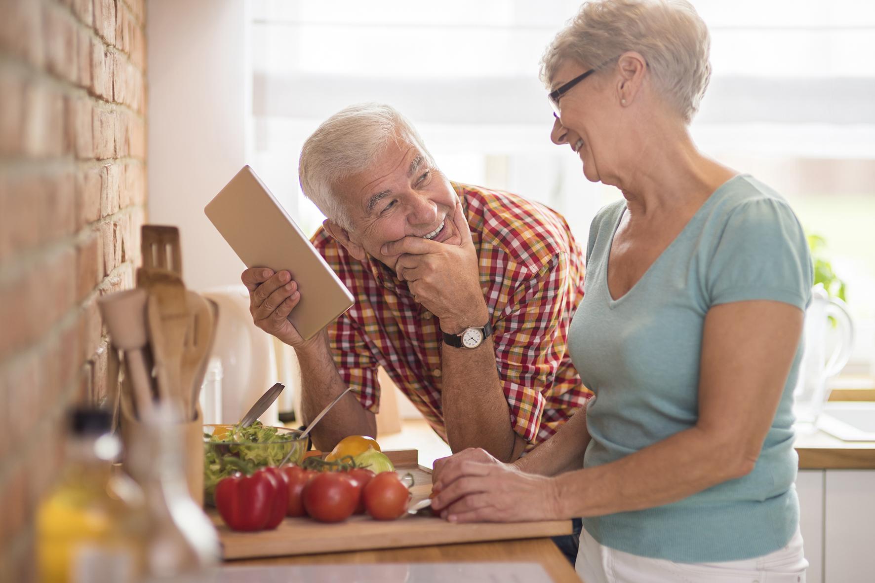 Receta para envejecer de manera saludable