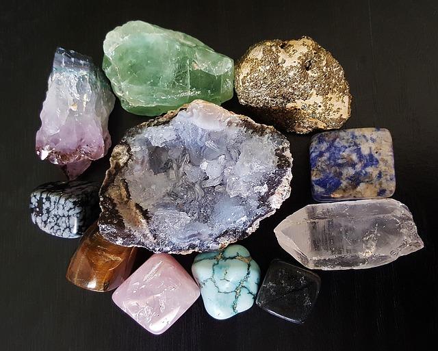 Las Gemas, cristales que sanan