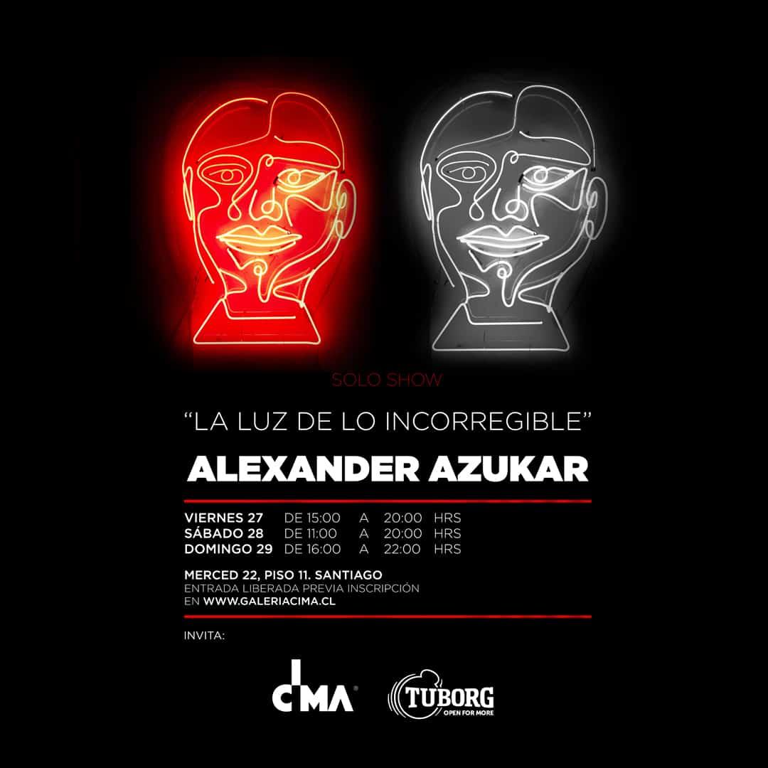 GALERÍA CIMA Y TUBORG PRESENTAN LA SEGUNDA MUESTRA INDIVIDUAL DE ALEXANDER AZUKAR
