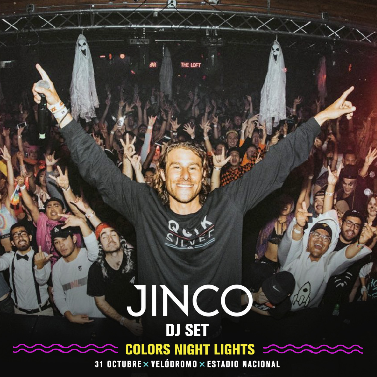 Jinco es el Dj set que se suma a Colors Night Lights
