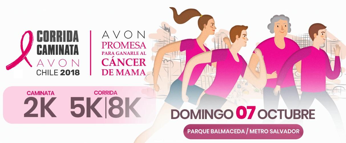 AVON y FALP refuerzan el llamado a correr para ganarle al cáncer de mama