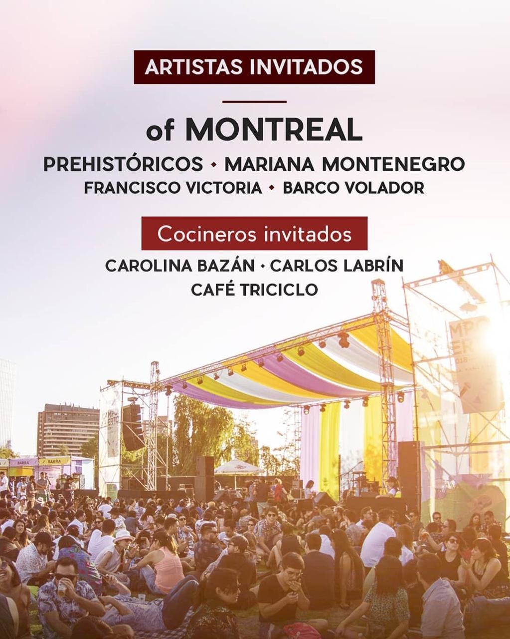Parque Renato Poblete recibirá 4ta versión de festival Campo Abierto