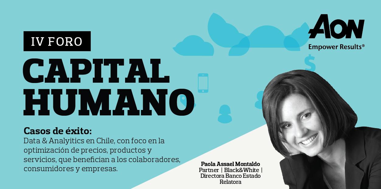 IV Foro de Capital Humano de Aon Chile: Uso y análisis de datos para mejorar la gestión del talento en las empresas