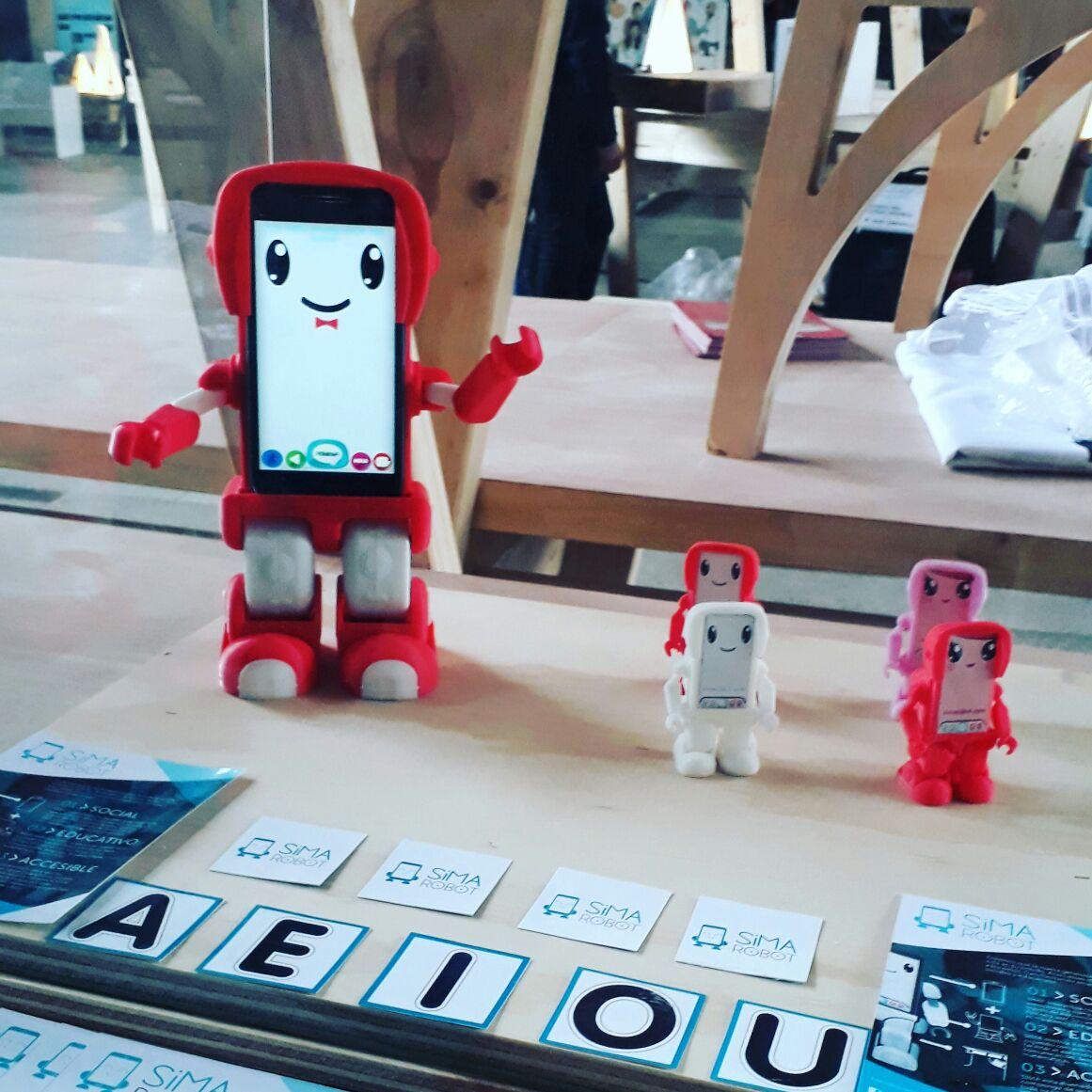 SIMA, el Robot Chileno comienza su aventura en Silicon Valley