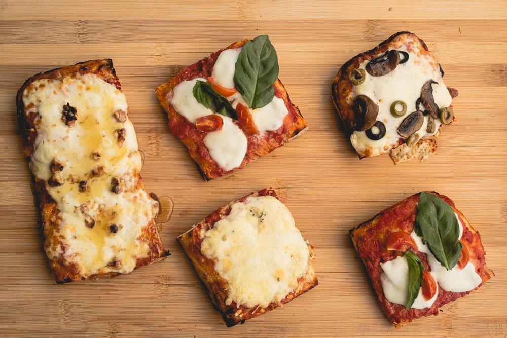 La Mafia Pizzería: Pizzas al corte