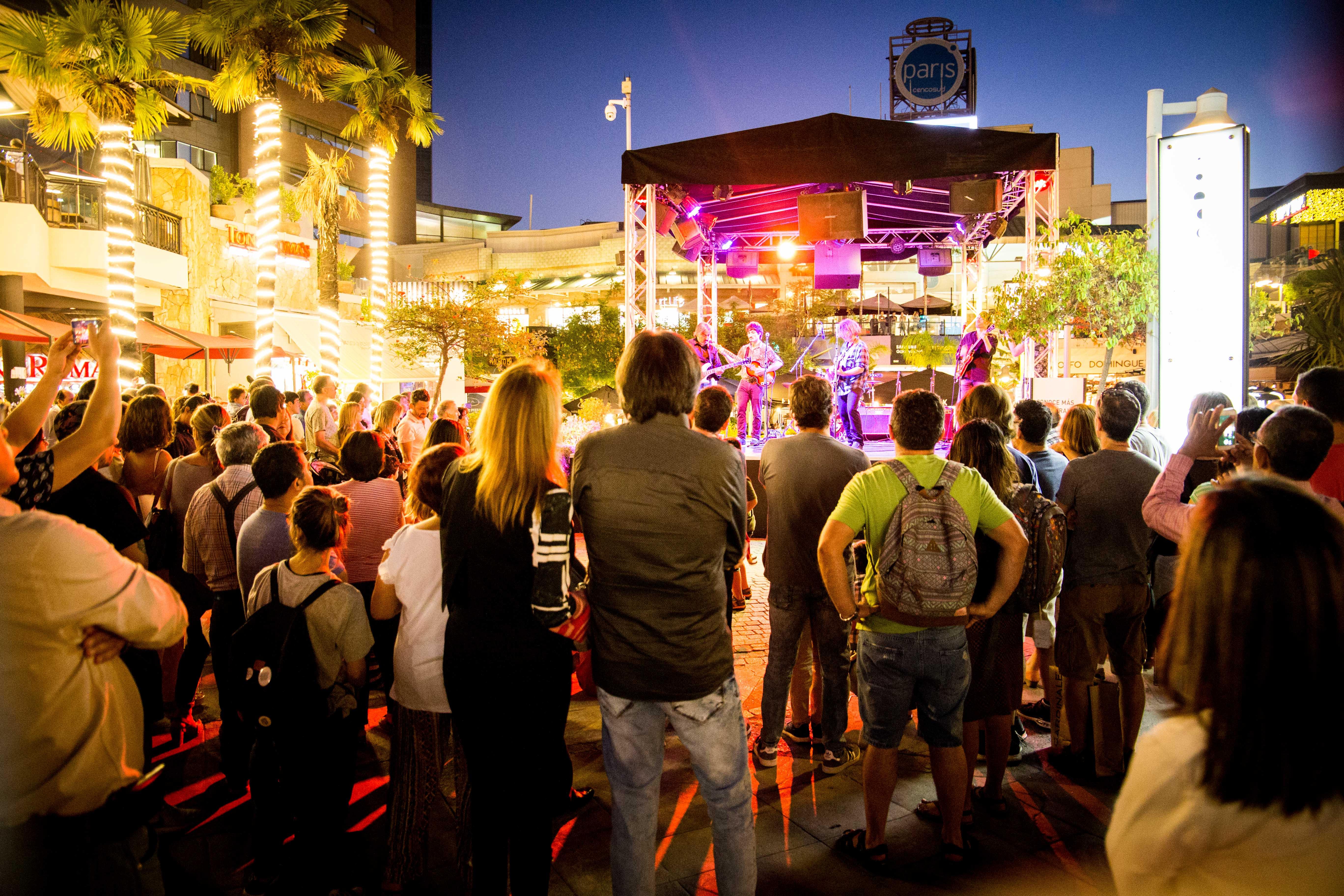 Noches de verano en Parque Arauco: Ciclos de shows gratuitos durante todo Enero