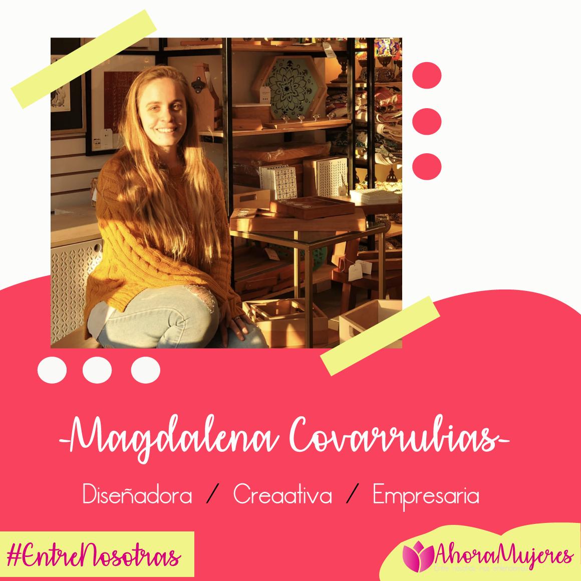 Magdalena Covarrubias, diseñadora y socia en Decontinentes